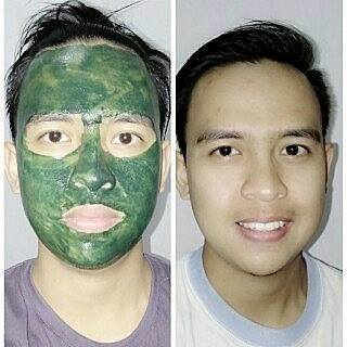 Jual Masker herbal Spirulina TIENS herbal Sumbawa Besar