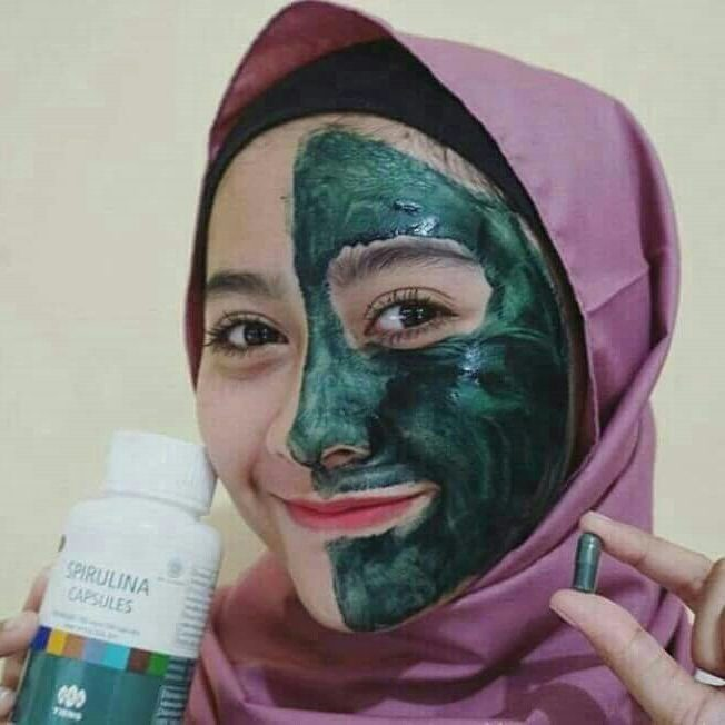 Jual Masker herbal Spirulina TIENS herbal Tirawuta